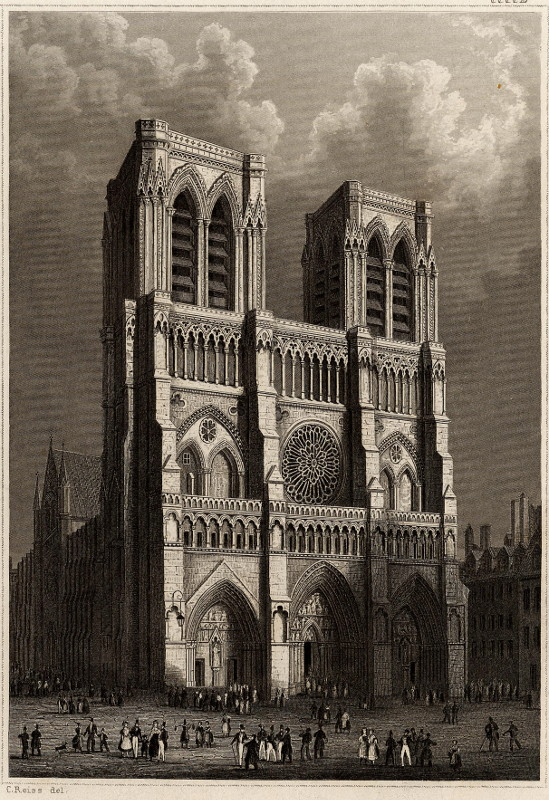 view Notre Dame by C. Reiss