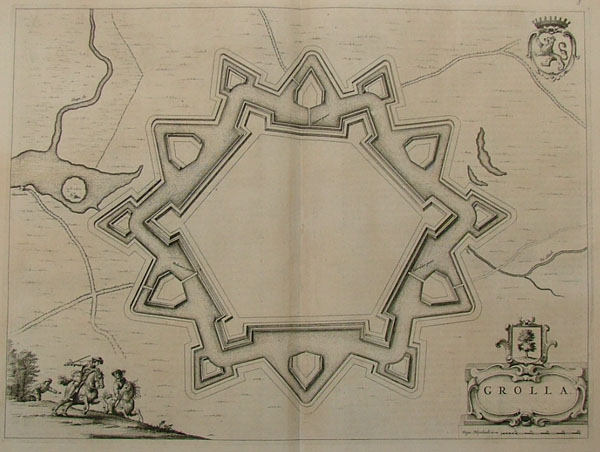 plan Grolla by Blaeu