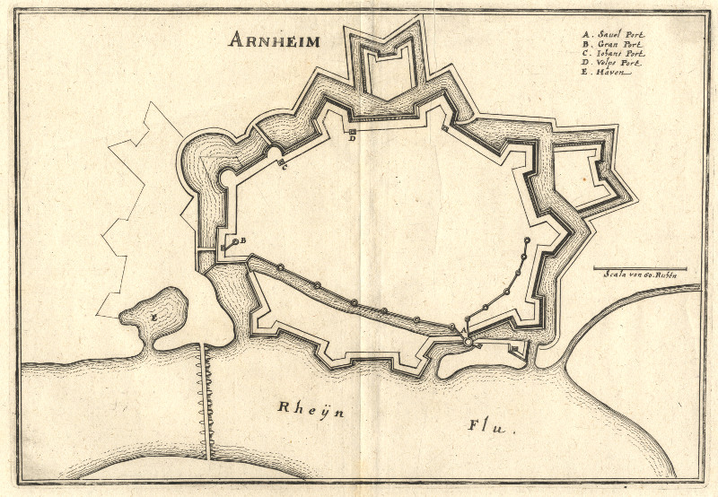 Arnheim by Merian