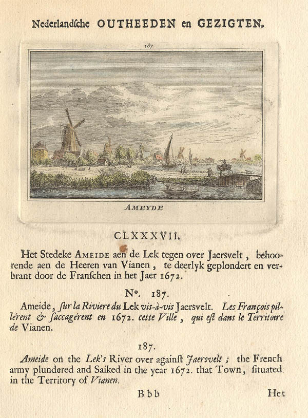 view Ameyde by Abraham Rademaker, WIllem Barents