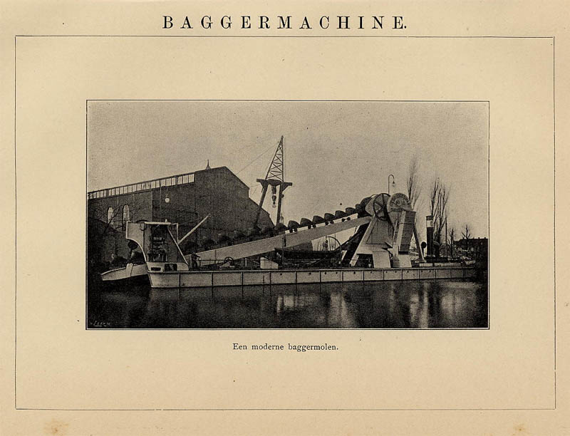 Baggermachine by Winkler Prins