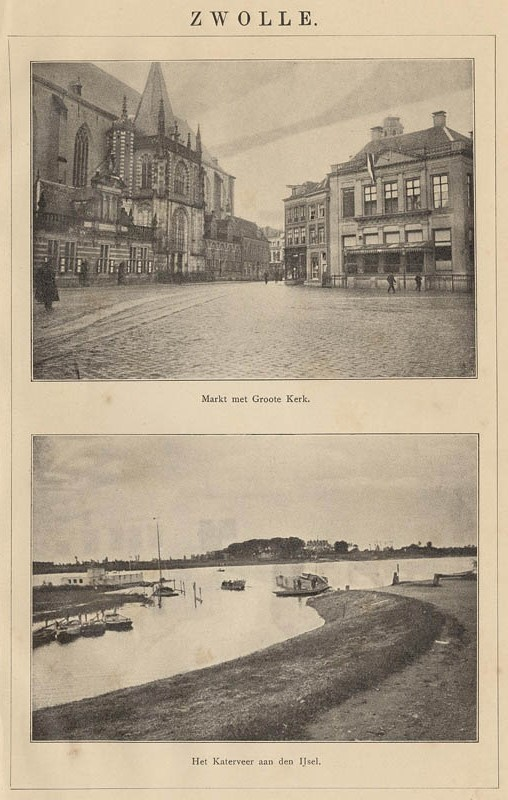 view Zwolle by Winkler Prins