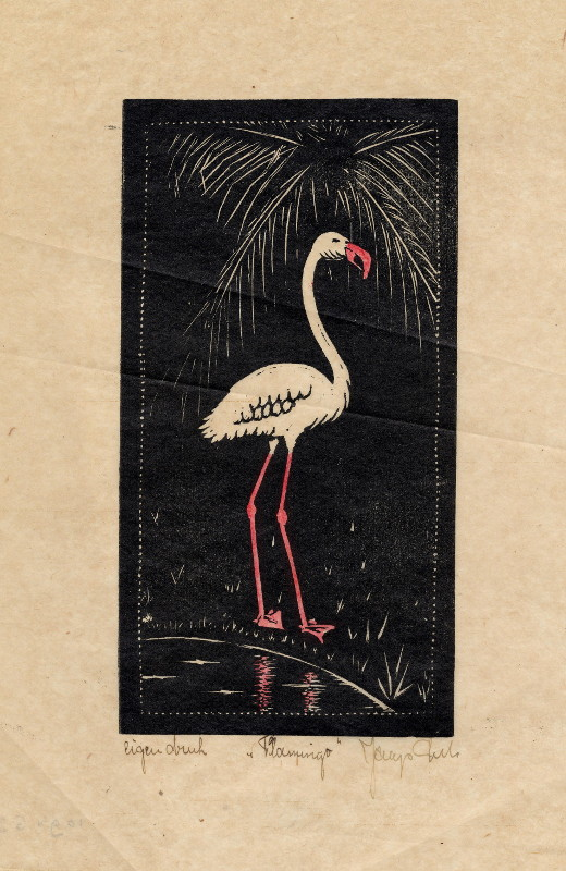 print Flamingo by Jaap Lutz ?