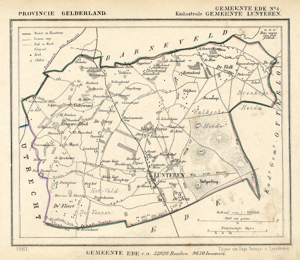 map communityplan Ede (Kad gem Lunteren) by Kuyper (Kuijper)
